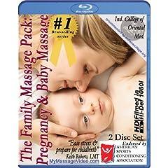 The New Family Massage Pack: Pregnancy Massage & Baby Massage Instructional Video -- 2 disc set [Blu-ray]