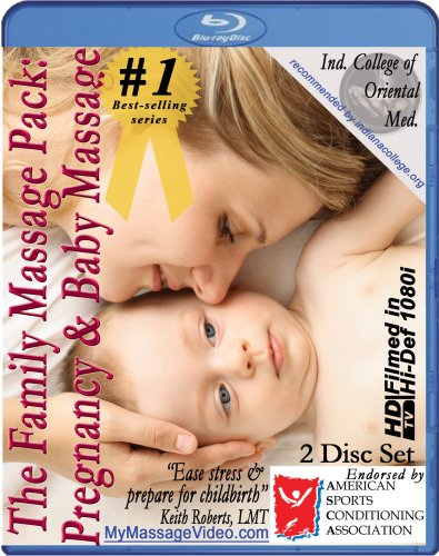 The New Family Massage Pack: Pregnancy Massage & Baby Massage Instructional Video -- 2 disc set [Blu-ray]
