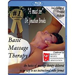 Basic Massage Therapy Instructional Video [Blu-ray]