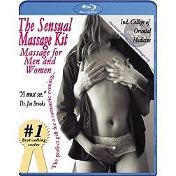 The Sensual Massage Kit: Massage for Men and Women Instructional Video -- 2 disc set [Blu-ray]