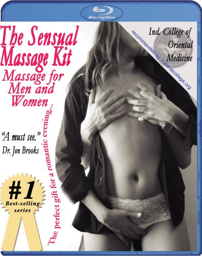 The Sensual Massage Kit: Massage for Men and Women Instructional Video -- 2 disc set [Blu-ray]