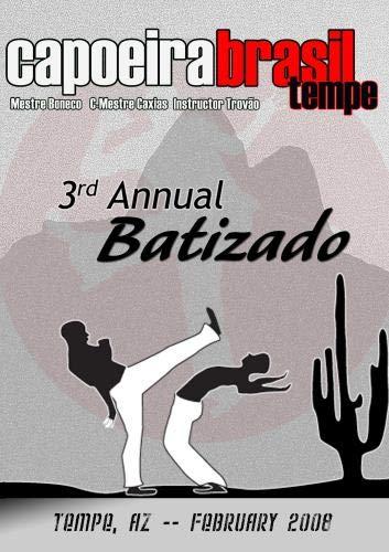 Capoeira Brasil Tempe 2008 Batizado