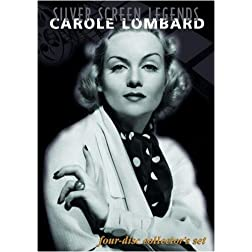 Silver Screen Legends: Carole Lombard (Four-Disc Collectors Set)