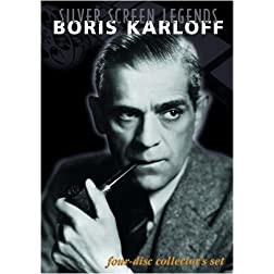 Silver Screen Legends: Boris Karloff (Four-Disc Collectors Set)