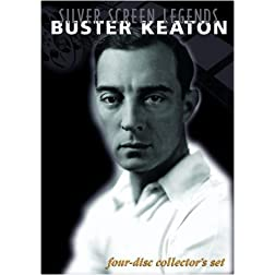 Silver Screen Legends: Buster Keaton (Four-Disc Collectors Set)