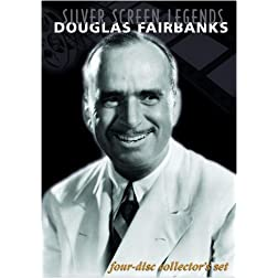 Silver Screen Legends: Douglas Fairbanks (Four-Disc Collectors Set)