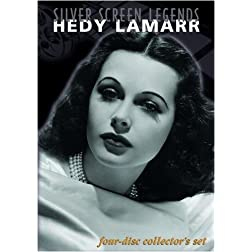 Silver Screen Legends: Hedy Lamarr (Four-Disc Collectors Set)