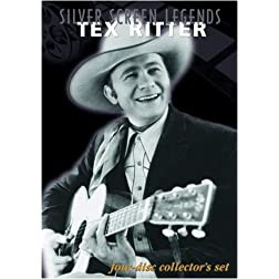Silver Screen Legends: Tex Ritter (Four-Disc Collectors Set)