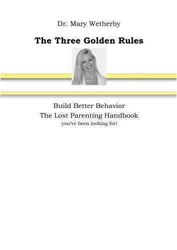 The Three Golden Rules - 2 disc set