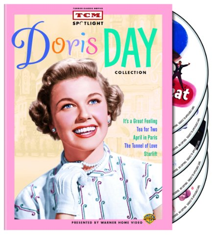 TCM Spotlight: Doris Day Collection (It's a Great Feeling / Tea for Two / April in Paris / The Tunnel of Love / Starlift)