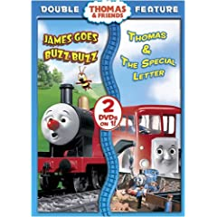 Thomas & Friends: James Goes Buzz Buzz/Percy's Ghostly Trick