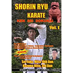 Shorin Ryu Karate Ken Sei Dokukai Vol 1