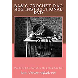 Basic Crochet Rag Rug Instructional DVD