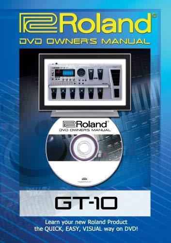 Roland (Boss) GT-10 DVD Video Tutorial Manual Help