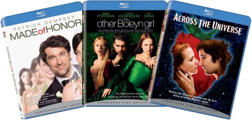 Blu-ray Love & Marriage 3-pk Bundle (Made of Honor, The Other Boleyn Girl, Across the Universe) [Blu-ray]