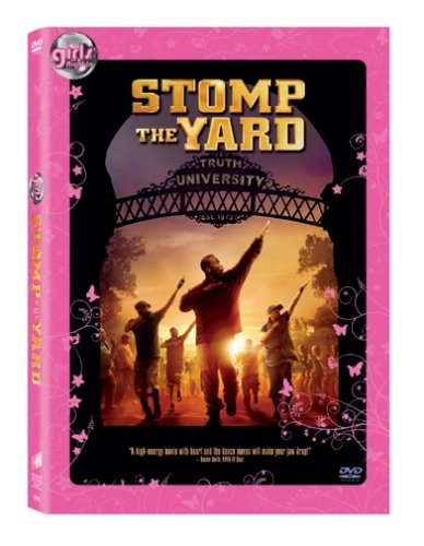 Stomp the Yard widescreen edition: Girls Night In packaging