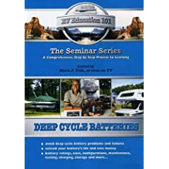 RV Education 101: Deep Cycle Batteries