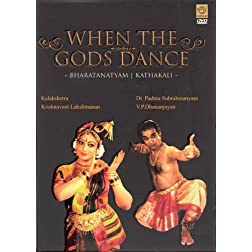 When The Gods Dance: Bharatanatyam, Kathakali (DVD)