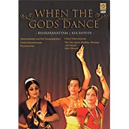 When The Gods Dance: Bharatanatyam, Kuchipudi (DVD)