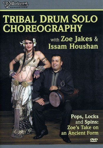 Bellydance Superstars: Tribal Drum Solo Choreography w Zoe & Isamm