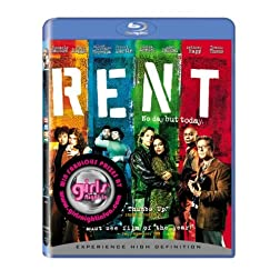 Rent - BD Girls Night In Sticker [Blu-ray]