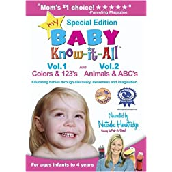 My Baby Know-it-All: Colors & 123's and Animals & ABC's