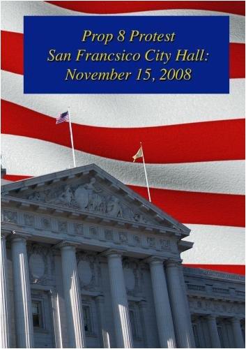Prop 8 Protest San Francisco City Hall