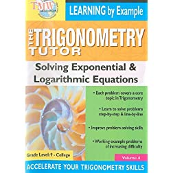 Triginometry: Solving Exponential & Logarithmic