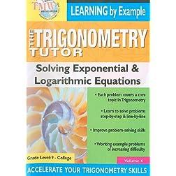 Triginometry: Solving Exponential & Logarithmic