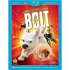 Bolt (Three-Disc Edition w/ Standard DVD + Digital Copy) [Blu-ray]