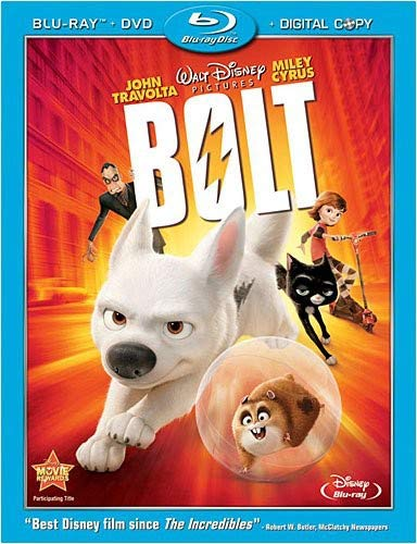 Bolt (Three-Disc Edition w/ Standard DVD + Digital Copy) [Blu-ray]