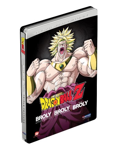 Dragon Ball Z: Broly Triple Feature (Broly/Broly Second Coming/Bio-Broly) (Steelbook)