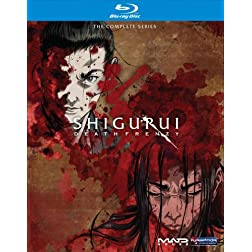 Shigurui: Death Frenzy Complete Box Set [Blu-ray]