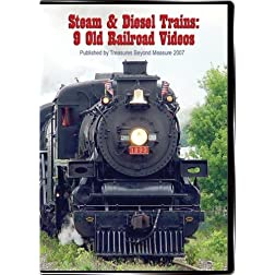 Steam & Diesel Trains: 9 Old Railroad Videos