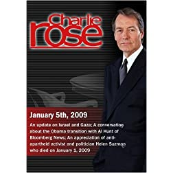 Charlie Rose - January 5th, 2009