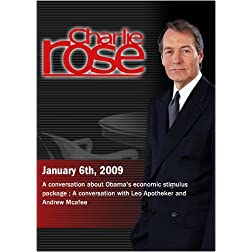 Charlie Rose - January 6th, 2009