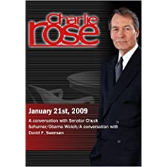 Charlie Rose - January 21st, 2009