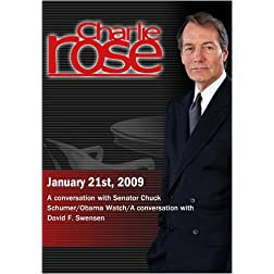 Charlie Rose - January 21st, 2009