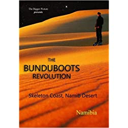 "the bunduboots revolution - ""Skeleton Coast, Namib Desert"""
