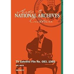 TV Satellite File No. 083, 1985