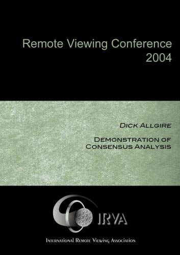 Dick Allgire - Demonstration of Consensus Analysis (IRVA 2004)
