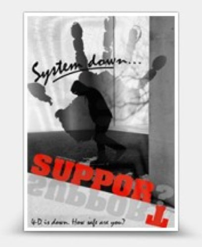 SUPPORT? system down