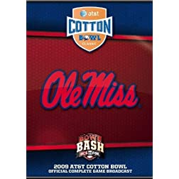 2009 Cotton Bowl DVD- Ole Miss vs. Texas Tech