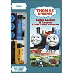 Thomas & Friends:James Learns A Lesson w/ double train