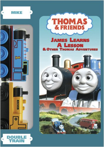 Thomas & Friends:James Learns A Lesson w/ double train