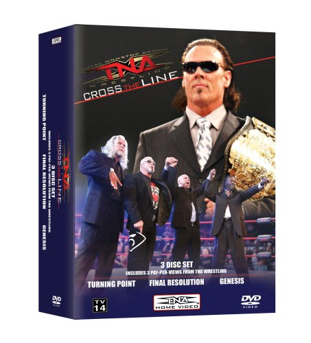 TNA Cross The Line PPV Vol 2 (Turning Point, Final Resolution & Genesis)