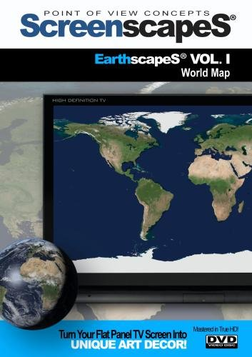 ScreenscapeS: Earthscapes VOL 1 -World Map