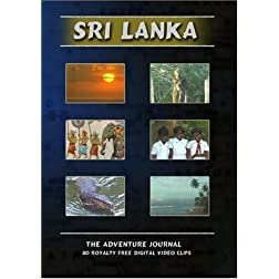 Sri Lanka Royalty Free Stock Footage