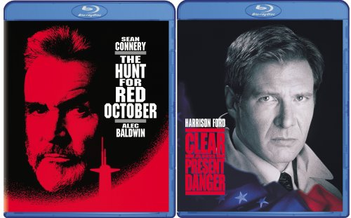 Clear and Present Danger/The Hunt for Red October [Blu-ray]