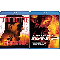 Mission: Impossible/Mission: Impossible 2 [Blu-ray]